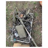 Militarty vintage mine detector device unknown con