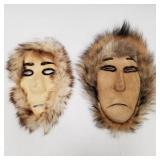 2 Anatuvuk pass masks                        (P 88