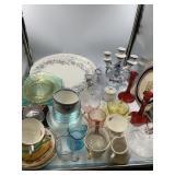 A huge box of glassware               (P 83)
