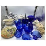 Box lot of glassware              (P 83)