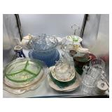 Box lot of glassware and dishes            (P 83)