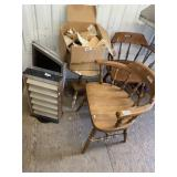 Large miscelanous items including 2 very nice wood