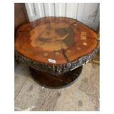 Natural thick wood trunk tree slice turned into a