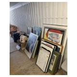 Large lot with miscellaneous items including pictu