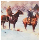 Gerald Harvey Jones double matted and wrapped prin