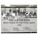 """A fabulous print of """"The Gathering"""", a famous phot"""