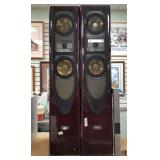 Pair of Digital Audio brand speakers, Model no. DA