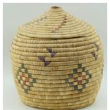 "10"" Grass basket by Mary Joseph from Kipnuk     (P"