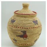"""10"""" basket by Julia Aygpoun from Kipnuk, AK with d"""