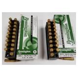 Lot of 2: 20 Round boxes of Remington .223 cartrid