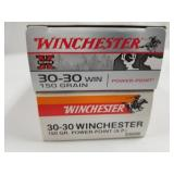 Lot of 2: 20 round boxes of 30-30 Winchester 150 g