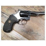 Smith & Wesson 34-1 #M201453, revolver, 22LR, 4 in