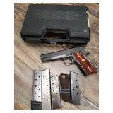 Colt 1911A-1, #2325857, pistol, 45ACPGHD inspector