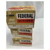 """Lot of3: 25 round boxes of Federal 16 ga 2 3/4"""" sh"""