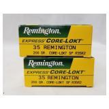 2 20 Round boxes of .35 REM, 200 grain, Core Lokt