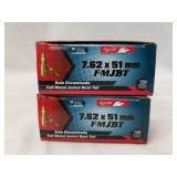 2 20 Round boxes of Aguila 7.62 x 51, 150 grain, F
