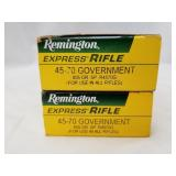 2 20 Round boxes of Remington .45-70 405 grain SP,