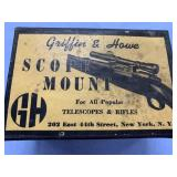 Griffin and Howe Scope mount, possibly for Rem Mag