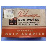 Pachmayr grip adapter in original box with paperwo