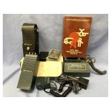 Lot of: Wilson VHF hand held transceiver with orig
