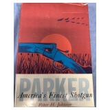 "Hard cover book ""PARKER America"