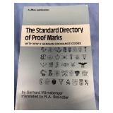 "Paper back book ""The Standard Directory of Proof M"