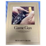 "Hard cover book ""Game Gun"" by Richard S. Grozik (P"