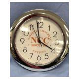 TOP WALL CLOCK (National Concrete Cutting)     (P