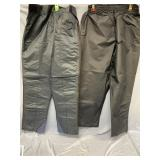 set of 2 Go-lock Winter and Rain pants  size XXL (