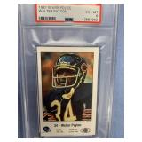 1981 Walter Peyton football card, graded EX6 by PS