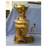 """Brass Samovar, approx. 17 1/2"""" tall, almost comple"""