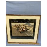 """Frank C. McCarthy double matted and framed print """""""