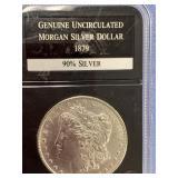 Morgan silver dollar 1879 S         (33)