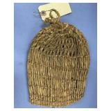 """Willow root bag, about 8.5"""" long         (M 478)"""