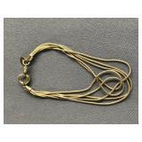 silver bracelet      (O 19)