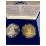 2 Troy oz. coin .999 pure silver gold miner from A
