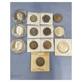 Lot of 13 various dates and miscellaneous foreign