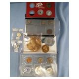 Lot of 8: various coinage/token: Alaska Purchase,