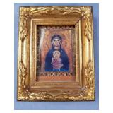 Small picture frame with image of Virgin Mary and