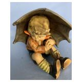 Vintage Hummel figurine of a boy under his umbrell