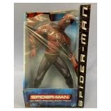 A moveable collectable action figure Spiderman, fr