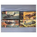 Lot of 4 models Chrysler New Yorker customizing ki