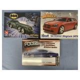 Lot of 3 models  2006 Dodge Magnum SRT8, Bat missi