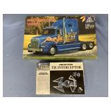 Lot of 2 models Western Star 5964SS truck 1:24, St