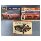 Lot of 3 models Dodge concept car 1:25, 2001 Corve