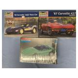 Lot of 3 models Corvette speedster 1:24, 1998 Corv