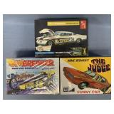 Lot of 3 models Super Judge funny car 1:25, 1953 S