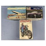 Lot of 3 models Corvette Stingray 3 convertible 1:
