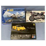 Lot of 3 models 2001 Honda NSR500 1:12, 2002 Ferra