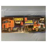 Lot of 2 models Peterbilt 352 Pacemaker Cabover 1: